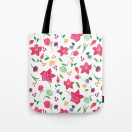Tropical themed pattern Tote Bag