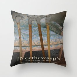 Northewasp's Auctions Throw Pillow