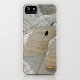 Qumran and the Dead Sea Scrolls - Holy Land Fine Art Film Photography iPhone Case