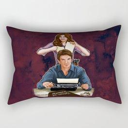 Murder, He Wrote Rectangular Pillow