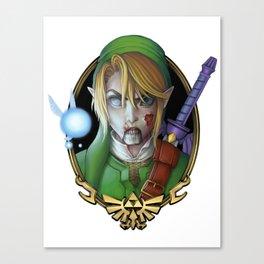 Zombie Link Canvas Print