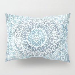 DEEP BLUE MANDALA Pillow Sham