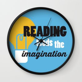 Imagination - Just Read Wall Clock