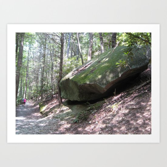 What a Rock Art Print