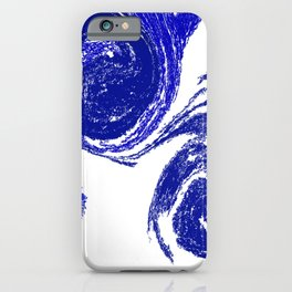 Rolling Blue iPhone Case