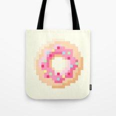 Pixel Donut Tote Bag