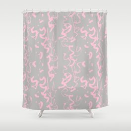 wiggly squiggle Shower Curtain