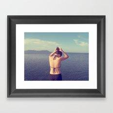 Dilly Framed Art Print
