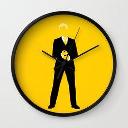 Barney Stinson Wall Clock