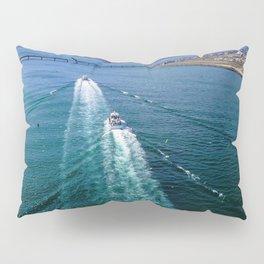 Sailing Through Pillow Sham