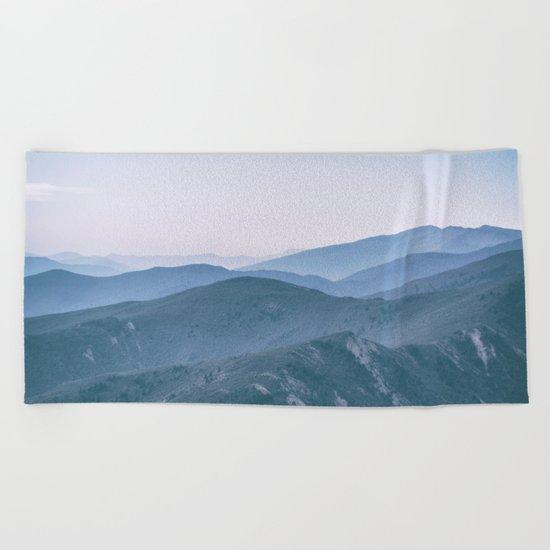 Hills #2 Beach Towel