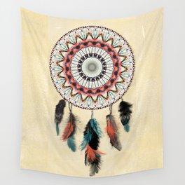 Mandala Dream Catcher Wall Tapestry