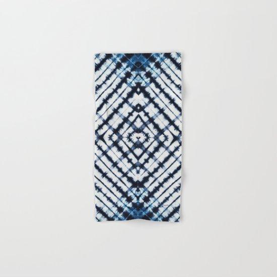 Diamonds Indigo Hand & Bath Towel