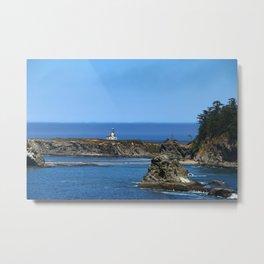 Cape Arago Lighthouse Metal Print