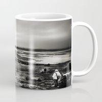 scotland Mugs featuring Cramond, Scotland by Mara Brioni Art Photography