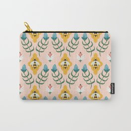 Summer Bees Carry-All Pouch