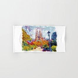 La Sagrada Familia - Park View Hand & Bath Towel