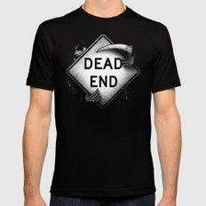 Dead End MEDIUM Black Mens Fitted Tee
