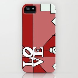 LOVEred iPhone Case