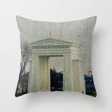 Peace Arch Throw Pillow