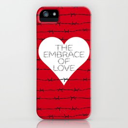 The embrace of love iPhone Case