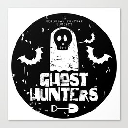 The Singular Fortean Society Ghost Hunters Canvas Print