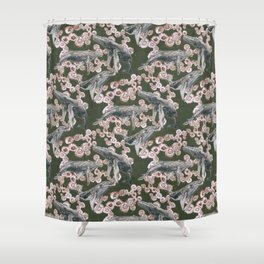 New England Summers Colorway Shower Curtain