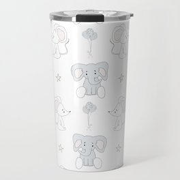 Elephant and Mouse Travel Mug