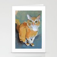garfield Stationery Cards featuring Garfield by Suzanna Schlemm