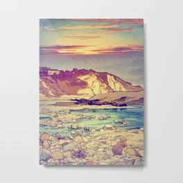 Sunset at Yuke Metal Print