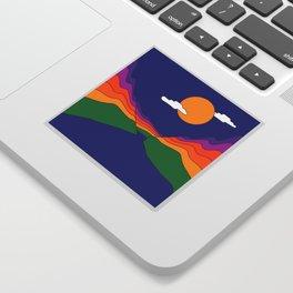 Rainbow Ravine Sticker