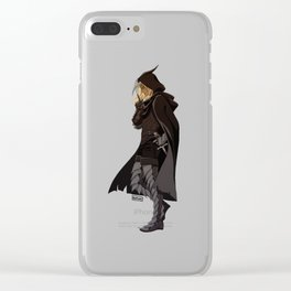 DA crew Zevran Clear iPhone Case