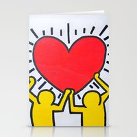 keith haring Stationery Cards featuring Keith Haring by Et Voilà