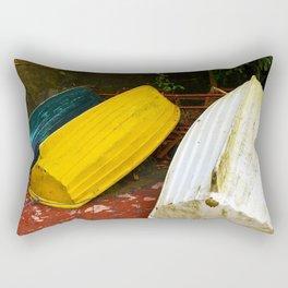 Just Boats Rectangular Pillow