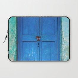 Blue Indian Door Laptop Sleeve