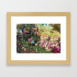 Glorious Garden Photos by Nancy Sharp Framed Art Print