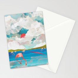 Flamingo Dream Stationery Cards