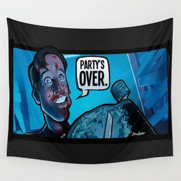 Party's Over Wall Tapestry