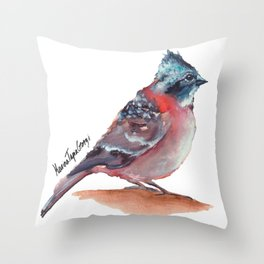 Chilean Bird - Chincol Throw Pillow