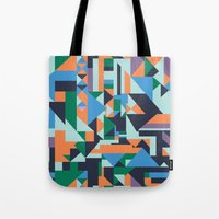 hunter x hunter Tote Bags featuring Hunter by La Señora