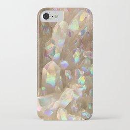 Unicorn Horn Aura Crystals iPhone Case