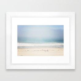 Sun and Fun Redondo Beach Framed Art Print