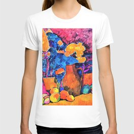 Alexej von Jawlensky - Flowers, fruit and jug - Digital Remastered Edition T-shirt