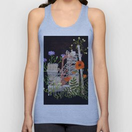 abandoned industry Unisex Tank Top