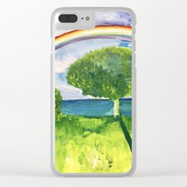 Maui, Hawaii Vibes Clear iPhone Case