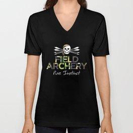 Field Archery - Pure Instinct Unisex V-Neck
