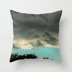 can you tell blue skies from pain? Throw Pillow