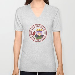 Archer Queen Unisex V-Neck