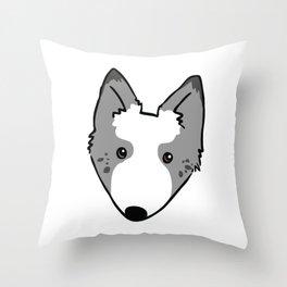 Jetpack the Dog Throw Pillow