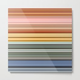 Stripes part 5 #eclecticart Metal Print